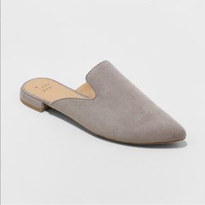 A New Day Pointed Toe Slide on Mules-9.5